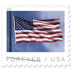 First Class Forever Stamp - American Flag